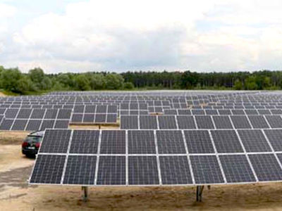 Photovoltaikanlage Rieselfelder Beeskow